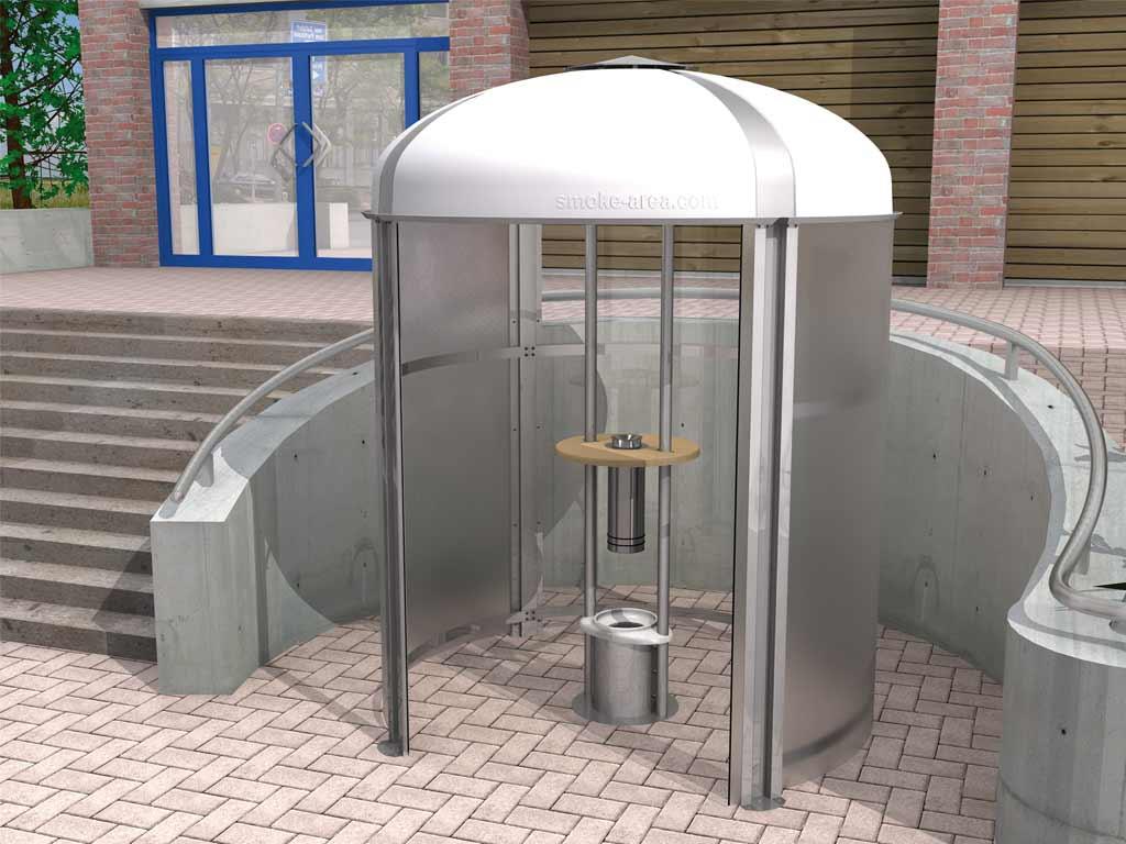 Raucherpavillon Smoke-Area 2000 (Bis 6 Personen)