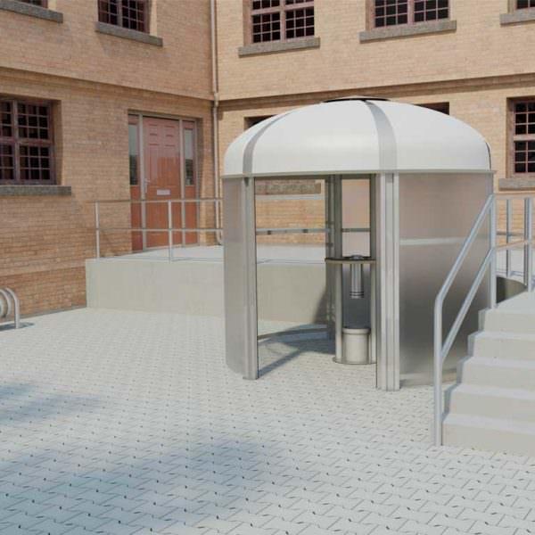 Raucherpavillon Smoke-Area 3000 (Für 15 Personen)