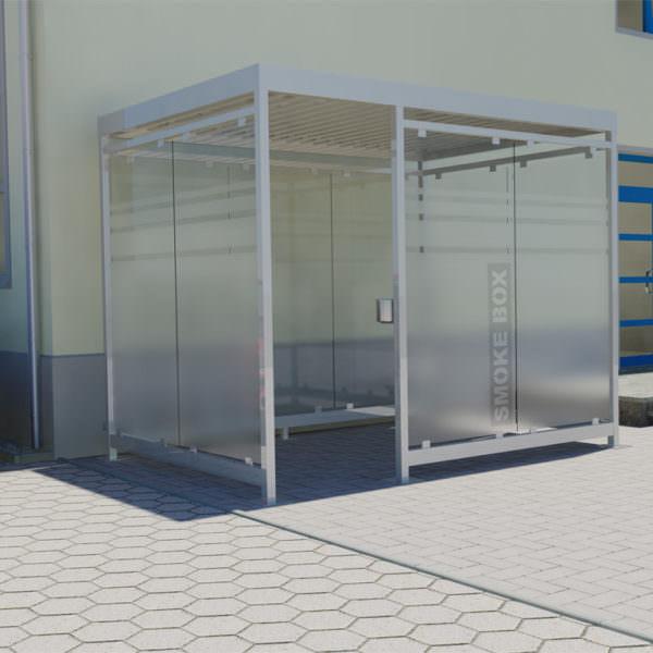 Raucherkabine Smoke-Box 2 x 3 (Bis 6 Personen)