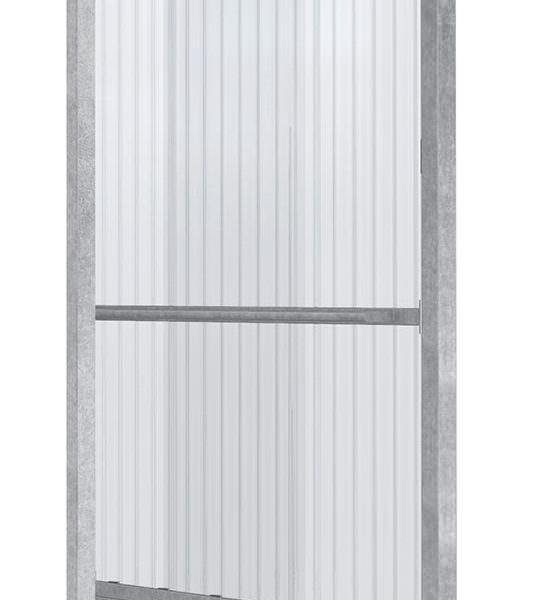 Seitenwand für Modell Smoke-Box light, verzinkt