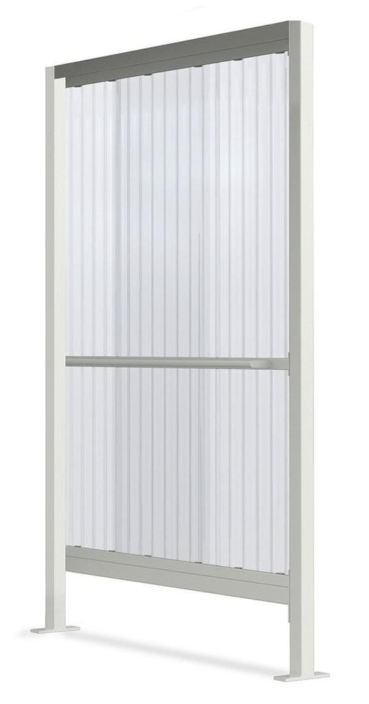 Seitenwand für Modell Smoke-Box light, verzinkt und farbbeschichtet