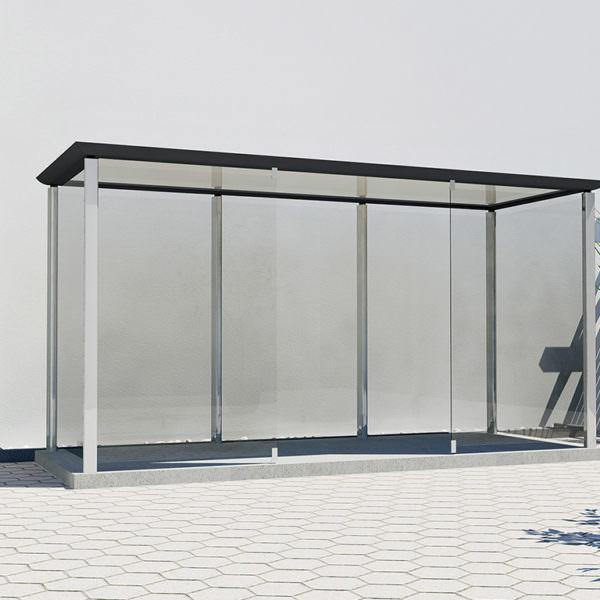 Raucherkabine Smoke-Cube 1 x 4 (Für 10 Personen)