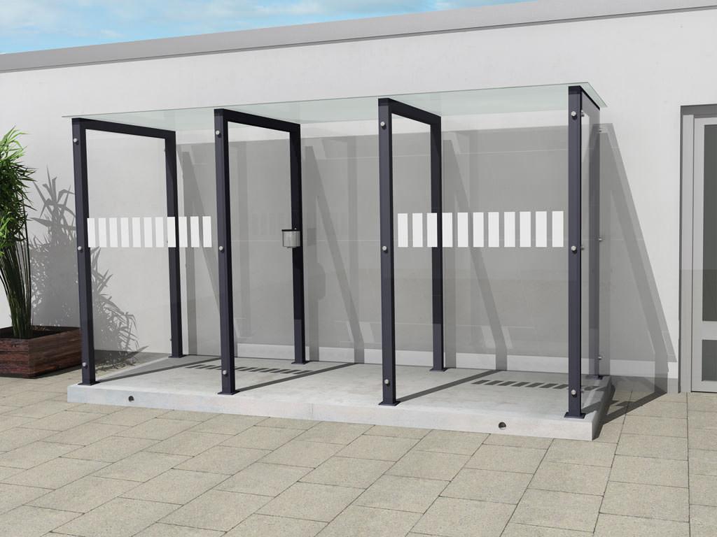 Raucherkabine Smoke-Portal 4000 (Für 10 Personen)