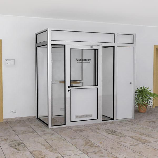 Raucherkabine Smoke-Lounge 4U Umluft (Für 4 Raucher)