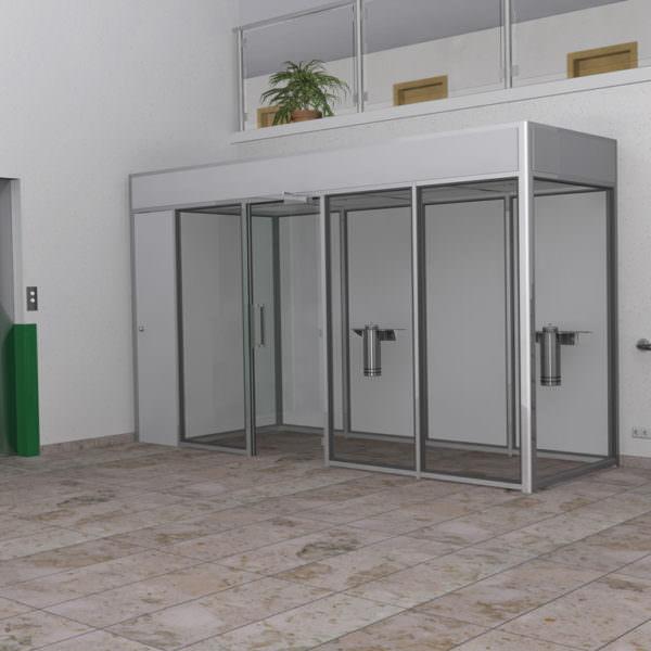 Raucherkabine Smoke-Lounge 6U Umluft (Für 6 Personen)