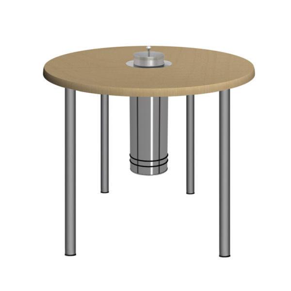 Rauchersitztisch Smoke Table 80 TA Ahorn