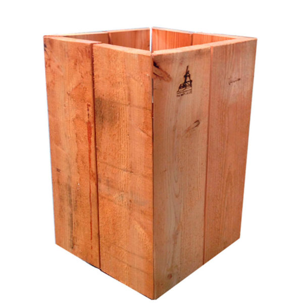 Boden Einbausystem Sockel aus Lerchenholz