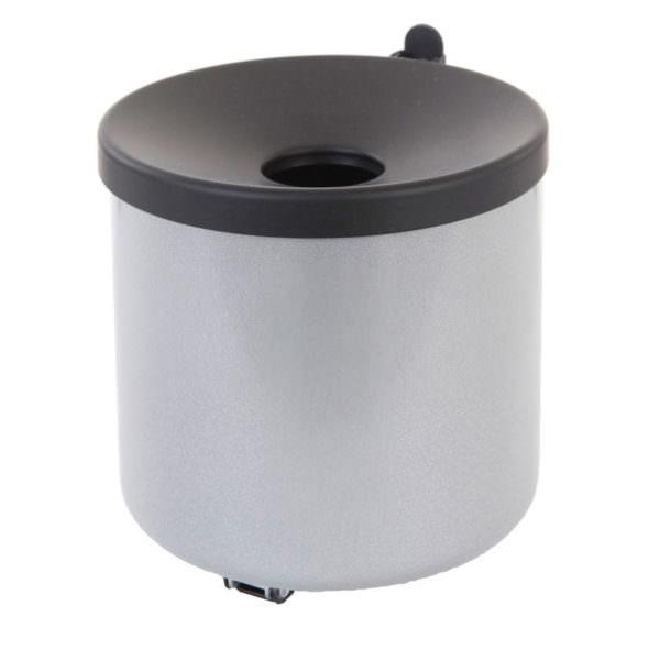 Smoke-Line Wandaschenbecher Farbe Aluminium grau. Volumen 2 Liter
