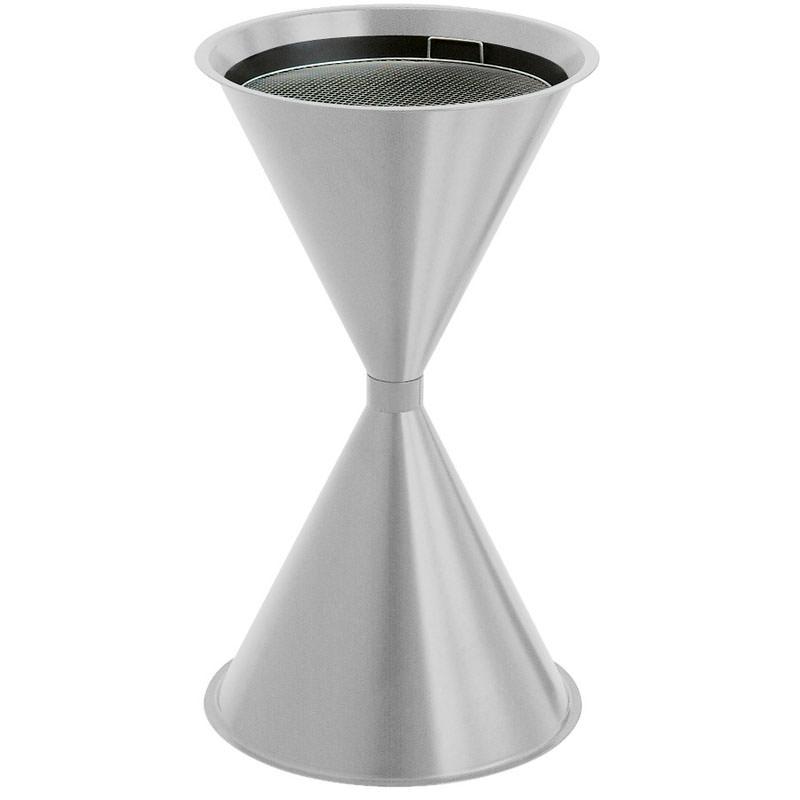 Smoke-Line Sandaschenbecher Diabolo Metall/ Aluminium grau