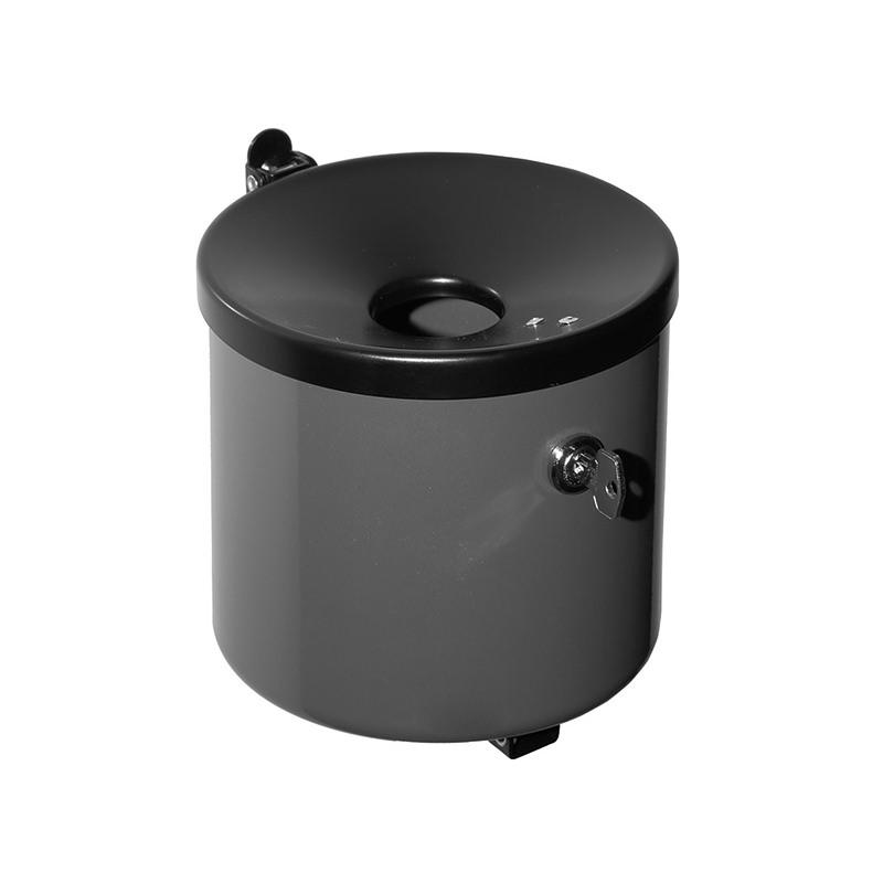Kip-Ex maxi Wandaschenbecher abschließbar 2,4 Liter graphit