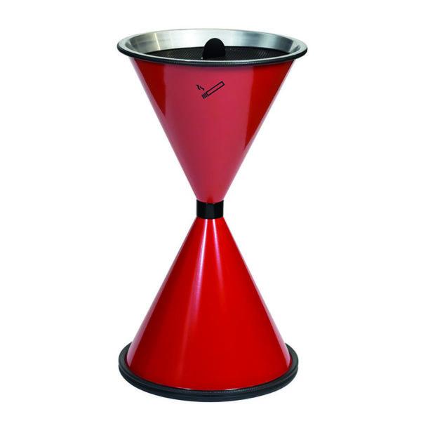 Kip-Ex Diabolo Standaschenbecher Farbe: schwarz 2 Liter