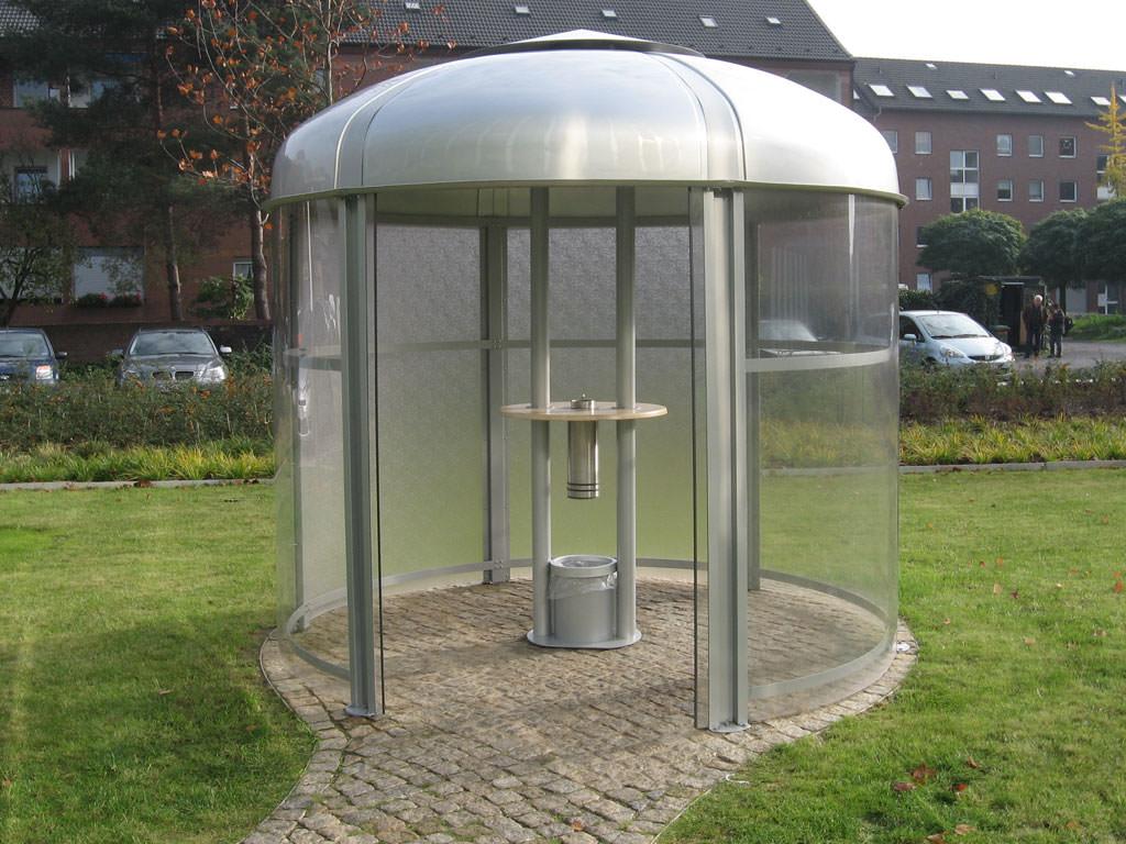 Raucherpavillons bewährt und anerkannt im Nichtraucherschutz